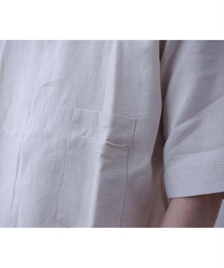 Handwerker /  short sleeve shirt - Off white