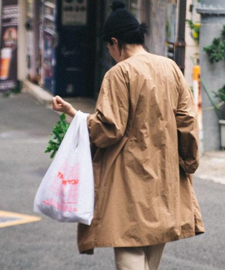 MUYA / Livery coat - BEIGE