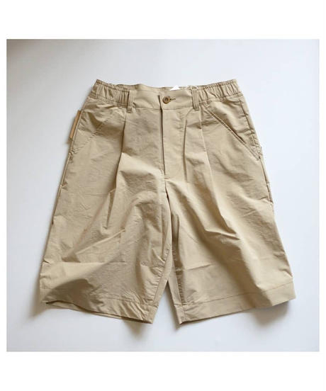 Handwerker /  HW shorts - コンパクトクロス - Beige