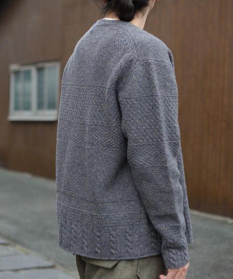 ASEEDONCLOUD / Moguragumi cardigan  - Blue