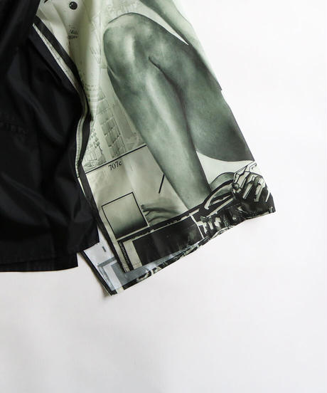 【 HTBS-005 】GRAPHIC ZIP BLOUSON