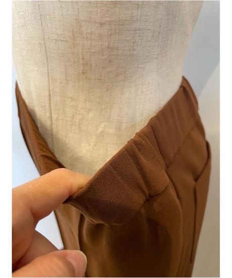 裾ゴムポイントパンツ