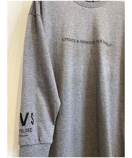 『CIVILISE』ロゴ入りロンT
