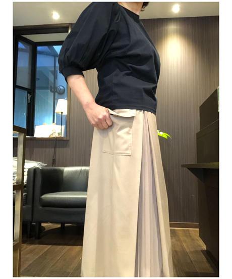 カーゴ風サイドプリーツスカート