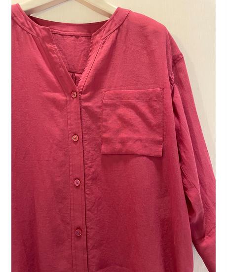 大人かっこいい☆シアーなロングシャツ