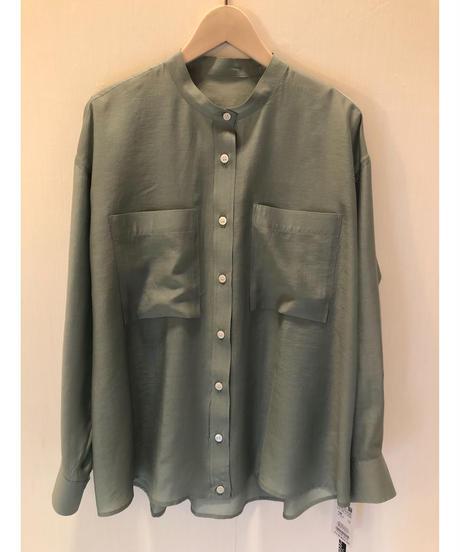 ほのかな透け感✨大人かっこいいシャツ