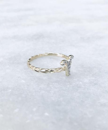 14K 星座ダイヤモンドマイレリーフリング($930)