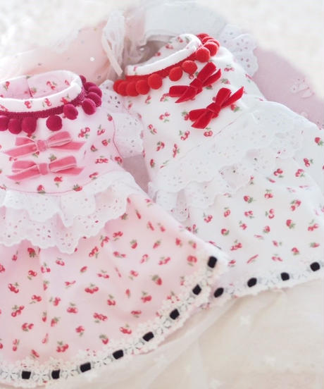 """""""在庫限り終了""""/ Pサイズ【Sweetie Heidi】""""Cherry-berry -bonbon""""(チェリーベリーボンボン)Pink"""