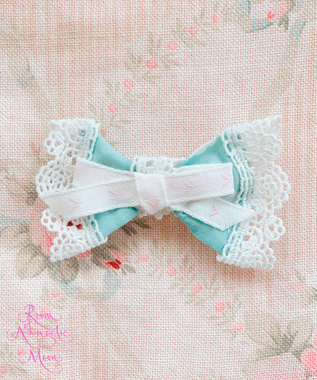 【 AngelicMoon Chambre】Lovely Cloudy (ラブリークラウディガールズ)バレッタ