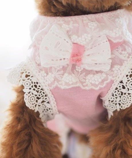 【 Picnic of Marie Antoinette】Robe en jean (ローブアンジーン)Rose(ピンク)P/XS/Sサイズ