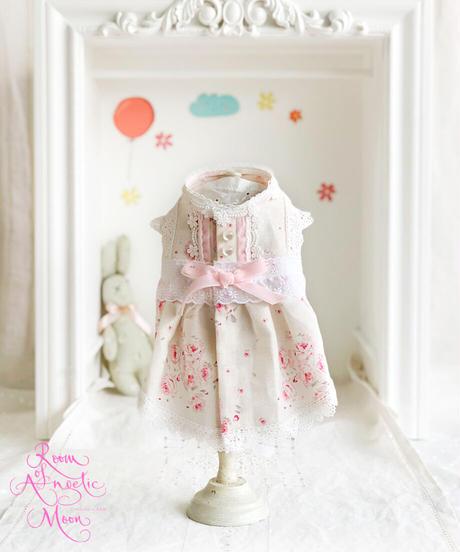 ※在庫限りで終了※XSサイズ・Sサイズ【Botanical Love】Pink Baby Rosy  (ピンクベイビーロージー)