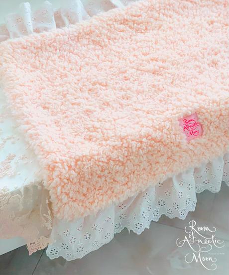 """""""在庫限り終了""""【Cafe Mat】 Vintage Pink Lovely Cafe mat(ヴィンテージピンクラブリーカフェマット)"""