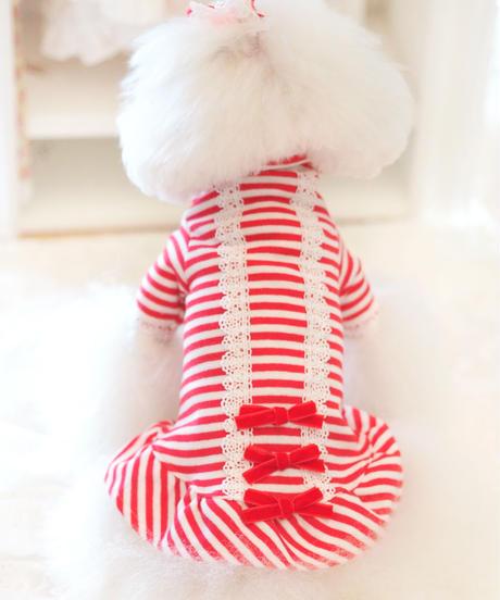 XS / S /Mサイズ【 AngelicMoon Chambre】『Mariniere bebe(マリニエールべべ)RED』