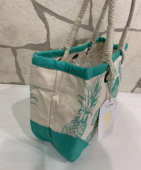 WHOLE FOODS  ミニトート PINEAPPLE【NATURAL】