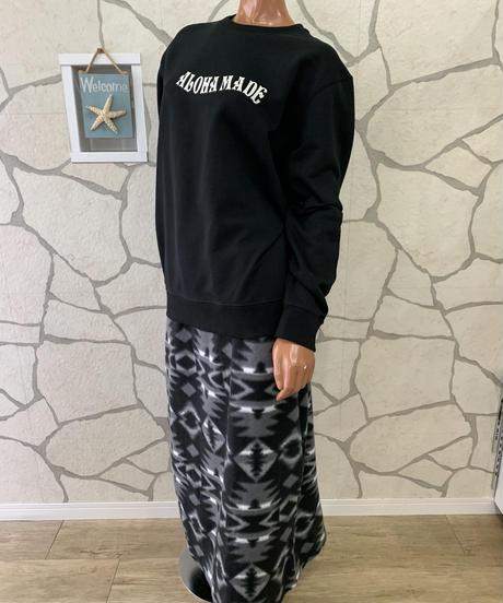 ANTIBALLISTIC  フリースマキシスカート 194AN2KN012 【BLK】
