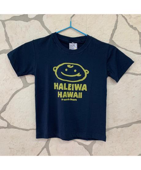 HALEIWA HAPPY MARKET 子供用Tシャツ 【NAVY】