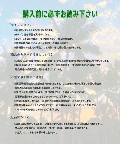 TANOA        DRESS  Bird of  paradise  【BLK】