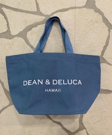 DEAN &  DELUCA  CANVAS TOTE  【BLUE】