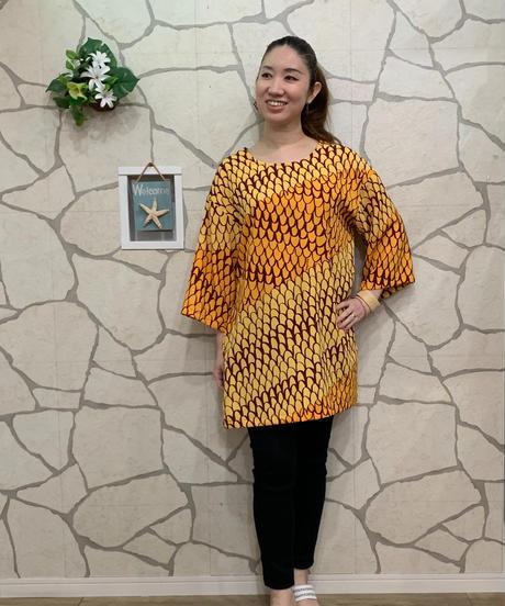 Manuheali'i   Pu'iwa  DRESS Amber 【YEL】