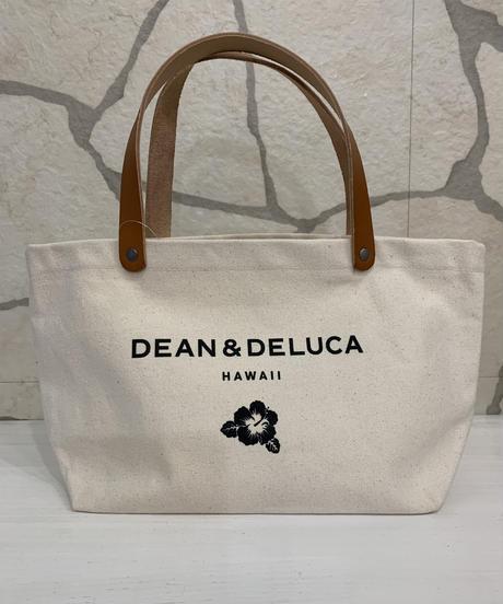DEAN &  DELUCA LEATHER HANDLE  SMALLTOTE  【NATURAL】