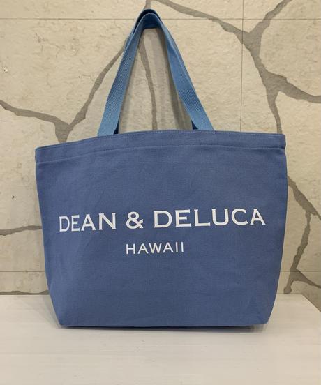 DEAN &  DELUCA  CANVAS LARGE TOTE  【BLUE】