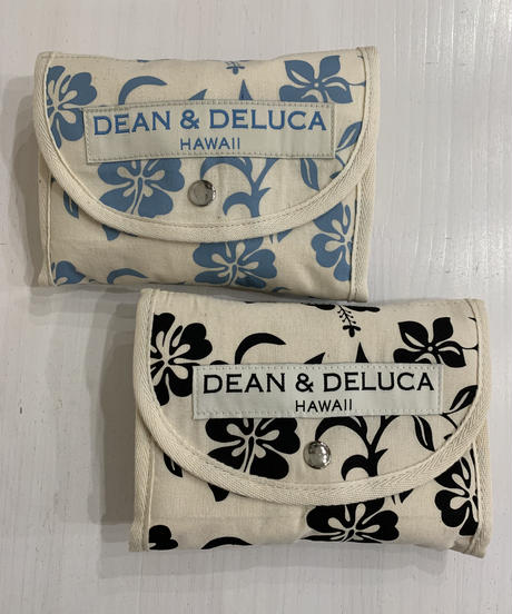 DEAN &  DELUCA  SHOPPING BAG HIBISCUS