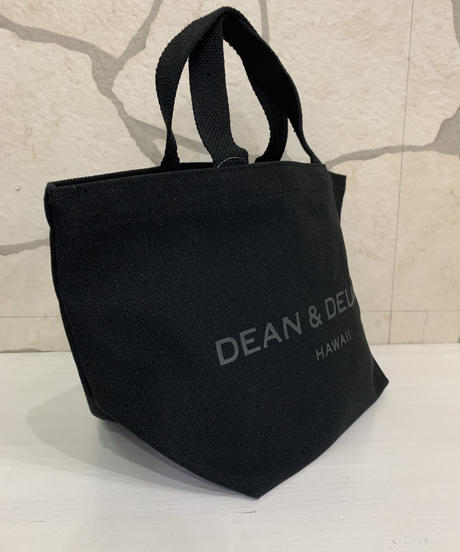 DEAN &  DELUCA  CANVAS TOTE  【BLACK】