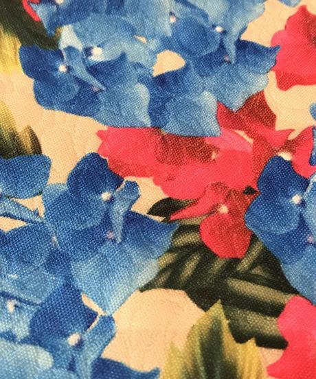 花柄 ミニスカート ピンク/ブルー