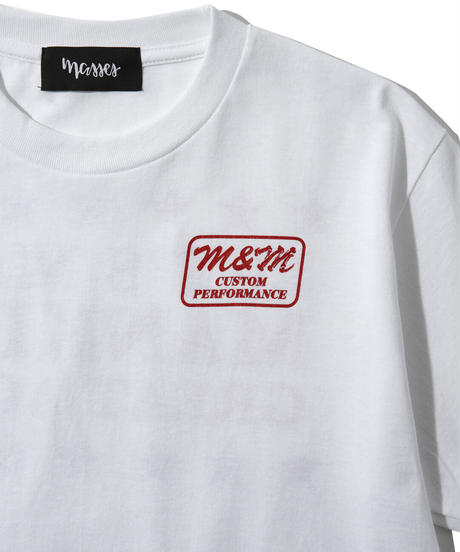 M&M×MASSES 80'S T-SHIRT S/S