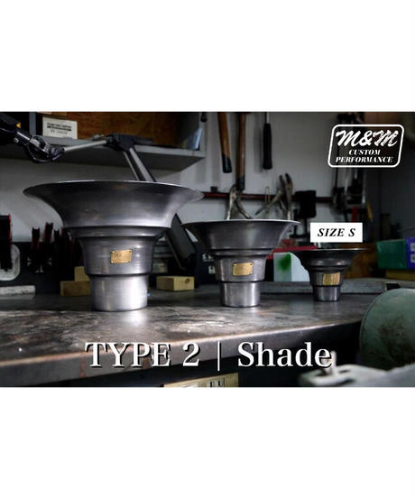 「TYPE2 | Shade Iron」size S