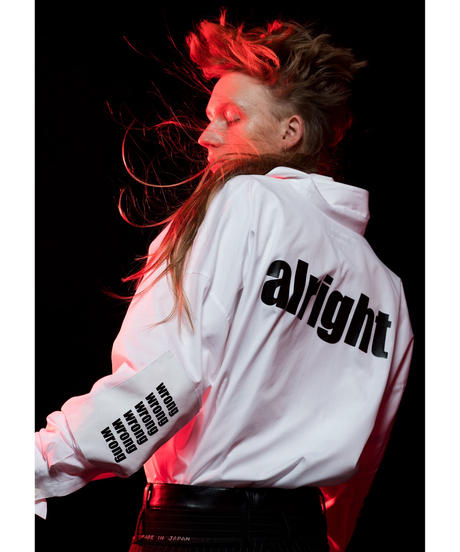 """【DISCOVERED】""""ALRIGHT"""" shirt"""