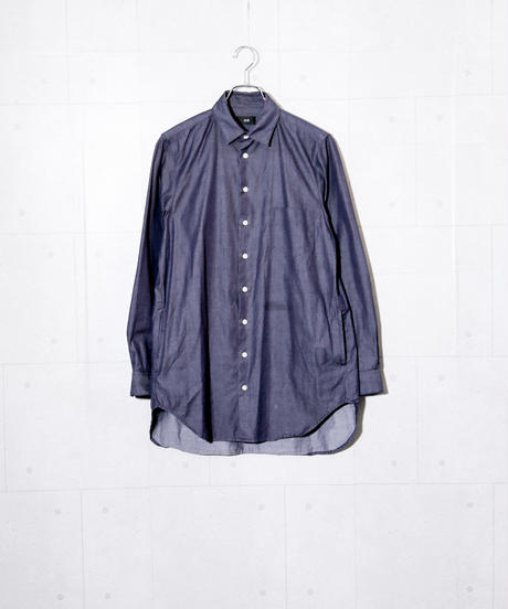 【MB】デニムロングシャツ