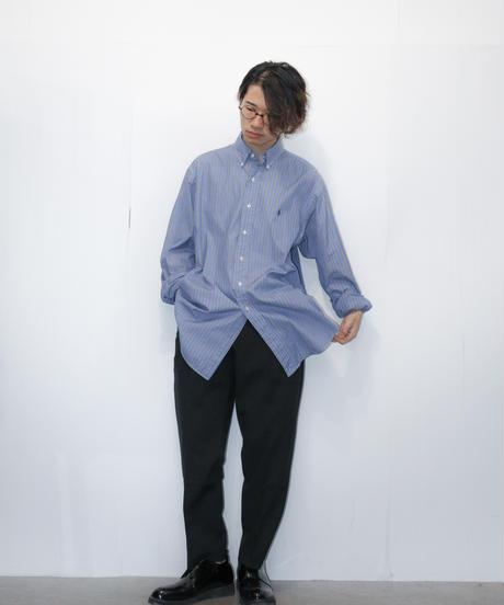 【ポロラルフローレン】ブロードビッグストライプシャツ