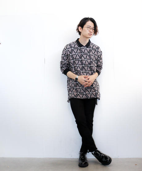 【MB×ATSUSHI NAKASHIMA】ニットポロ