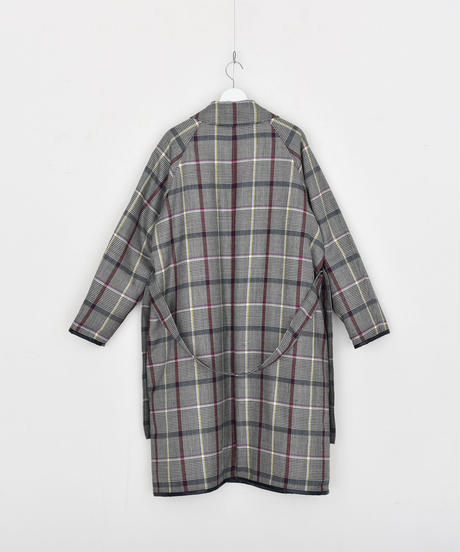 【DISCOVERED】Check coat