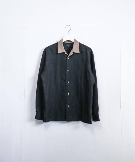 【MB】オープンカラーシャツ
