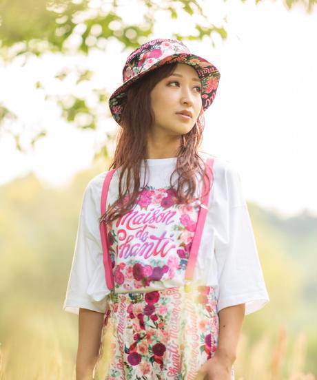 秘密の花園 ビッグシルエットTシャツ(ホワイト)