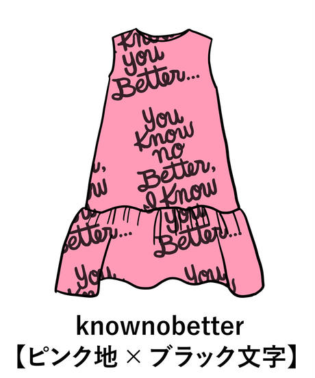 Aラインミドル丈ワンピ(Know No Better/全2色)