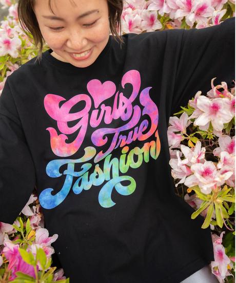 ドラマ『Girls True Fashion』オリジナルTシャツ(ブラック)