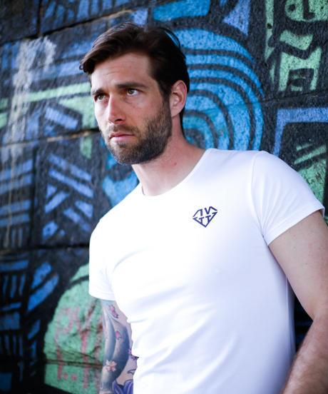 IVTT Diamond Logo Tshirts:WHITE