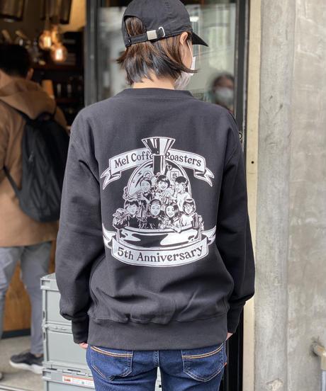 5th Anniversary Sweater Shirt  / 5周年記念スウェットシャツ