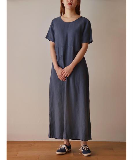 S/S Linen long one piece