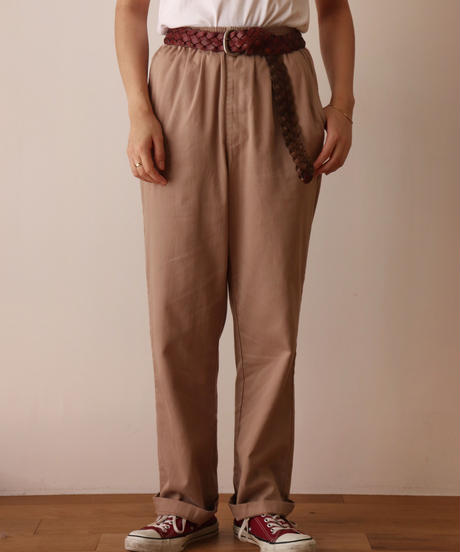 Cotton easy pants