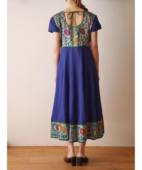 S/S flower design dress