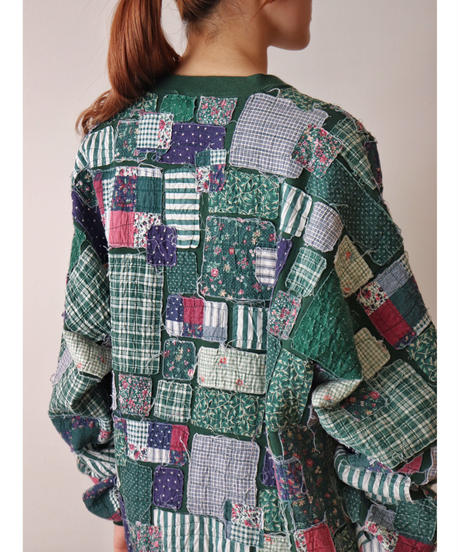 Patchwork design sweat