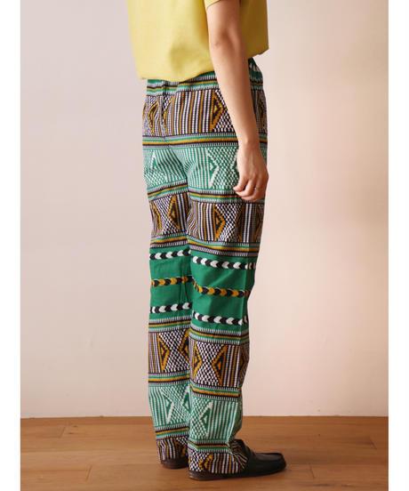 African batik cotton pants