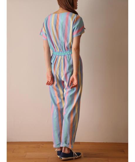 Stripe  pattern all-in-one