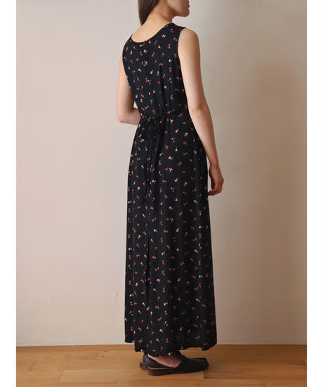 """""""OLD GAP"""" small flower pattern rayon one piece"""