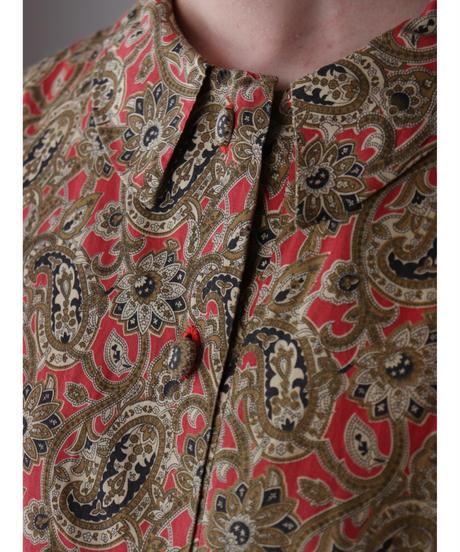L/S paisley pattern cotton shirt