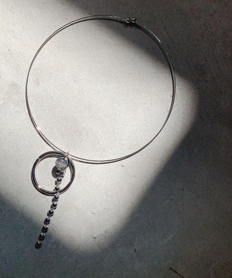 BALL CHAIN WIRE NECKLACE